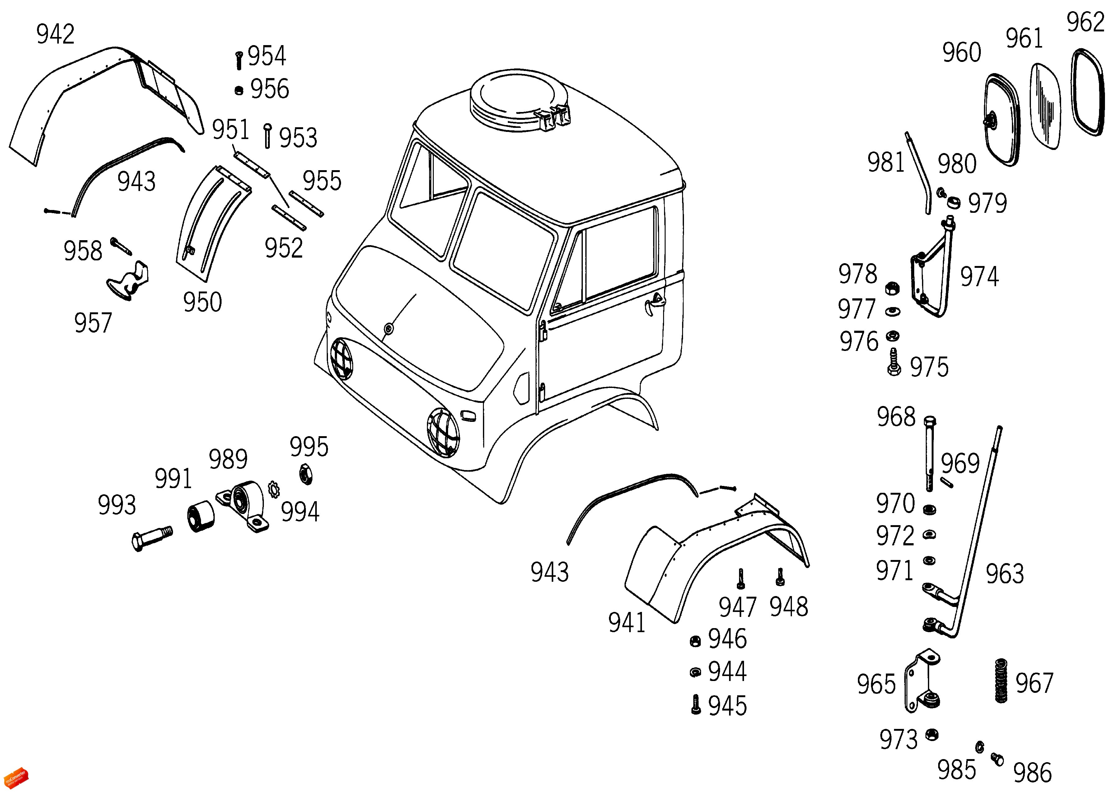unimog 411 parts pictures to pin on pinterest