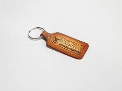 Unimog Leather Stamped Key Chain